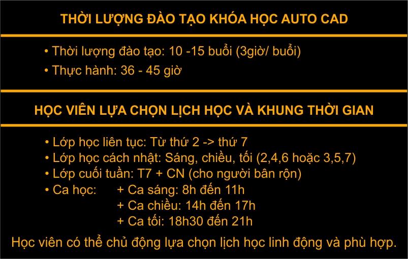 Đào tạo Autocad uy tín tại Hà Nội, TPHCM