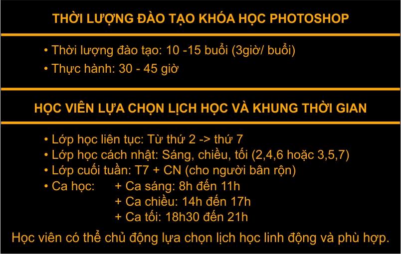 Khóa đào tạo photoshop cho người mới bắt đầu tại Ba Đình