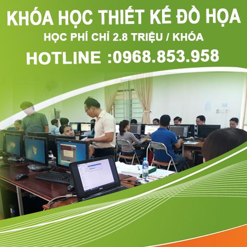 Học thiết kế đồ họa ngắn hạn tại Tuyên Quang