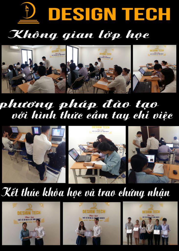 Khóa học photoshop tại Sài Gòn