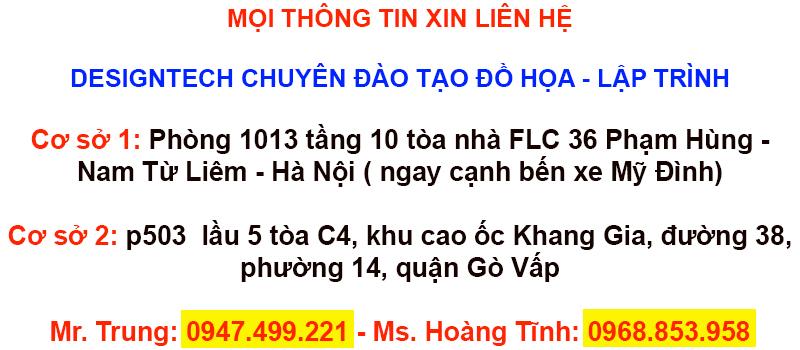 Khóa học indesign cấp tốc tại Bà Rịa - Vũng Tàu
