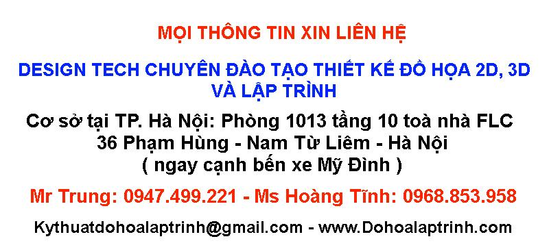 Đào tạo Autocad cấp tốc tại Quảng Bình